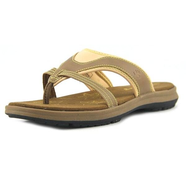 Bearpaw Womens Kathryn Open Toe Casual Slide Sandals