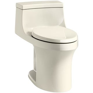 Kohler K-5172-RA San Souci 1.28 GPF Elongated One-Piece Comfort Height Toilet with Right Side Trip Lever and AquaPiston