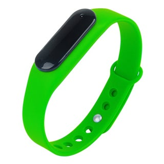 TechComm GX1 Fitness Tracker with Heart Rate Monitor and Remote Camera (Option: Green)