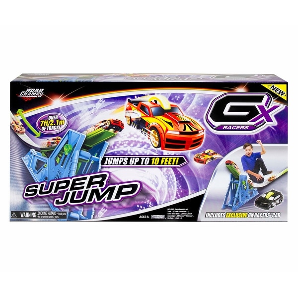 GX Racers Super Jump Road Champ Cars Track