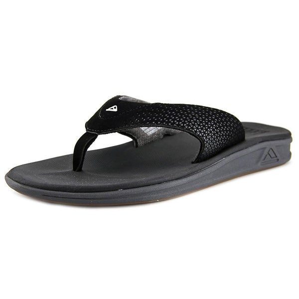 Reef Rover Black Sandals