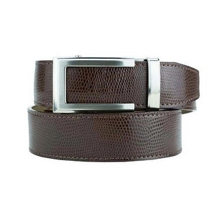 Nexbelt Classic Series Camden Brown Leather Strap Dress Belt