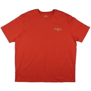 Tommy Bahama Mens Grass Bottom Boat Graphic Crew Neck T-Shirt - 3XL