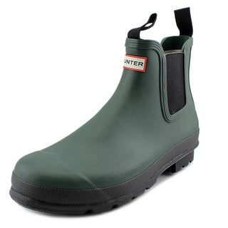 Hunter Original Chelsea Two Tone Men Round Toe Synthetic Rain Boot