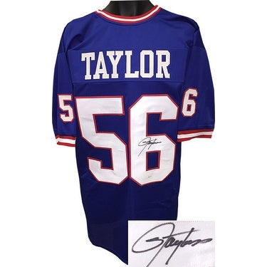 9a1edf6243b Shop Lawrence Taylor signed Blue TB Custom Stitched Pro Style Football  Jersey XL signed on 6 JSA Hologra - Free Shipping Today - Overstock.com -  20686206