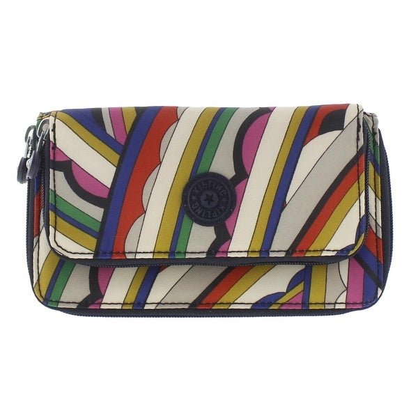Kipling Womens Zip Around Wallet Printed Lined - o/s