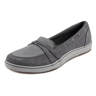 Grasshoppers Windham Women N/S Suede Gray Fashion Sneakers