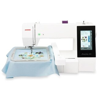 """Link to Janome Memory Craft 500E Embroidery Machine - 18"""" x 9"""" x 15"""" Similar Items in Laundry"""