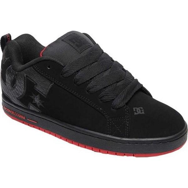 0dc05c906d83c4 Shop DC Shoes Men s Court Graffik SE Black Red Black - Free Shipping ...