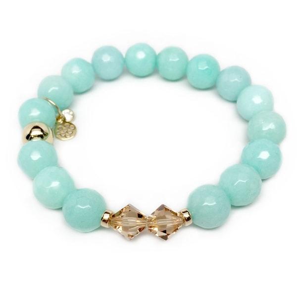 """Aqua Quartz Paris 7"""" Bracelet"""