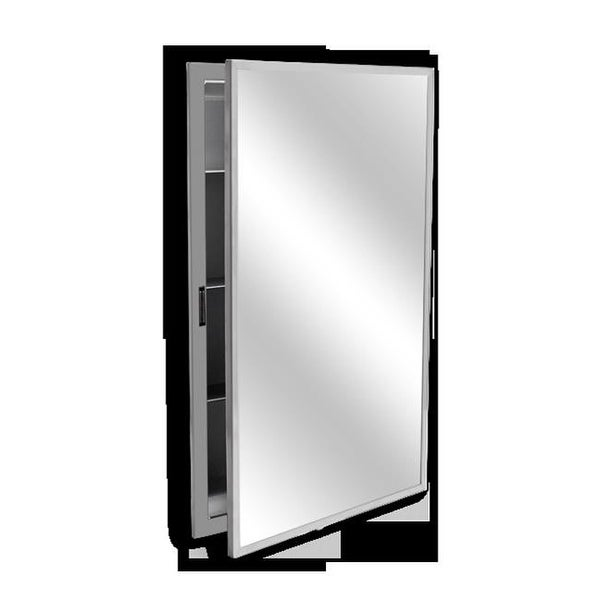 Charmant Medicine Cabinet, Semi Recessed 2 In. Collar   18 W X 24 H In