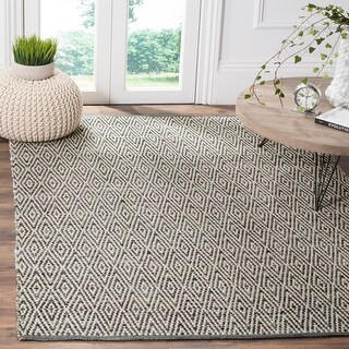 Link to Safavieh Handmade Flatweave Montauk Silja Casual Cotton Rug Similar Items in Rugs