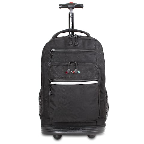 J World New York Sundance Laptop Rolling Backpack - Up to 15.4-inch Laptop