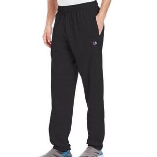Champion NEW Black Mens Size Medium M Pull-On Jersey Sweat Pants