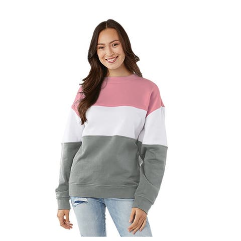 Women's Contemporary Crew Neck Relaxed Fit
