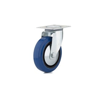 Richelieu F08338 220 lb. Maximum Weight Capacity Commercial Grade Swivel Mount Caster - Blue