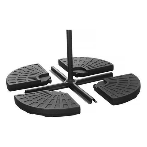 Ainfox Four-plate Patio Umbrella Base Matching Cross Base
