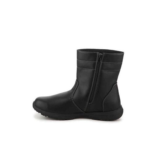 Khombu Mens Eaton Soft toe Zipper Safety Shoes - 9