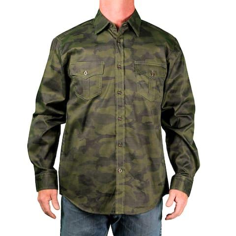 c4be486ed5 Blacksmith Men s Big Men s Camo-Print Woven Shirt