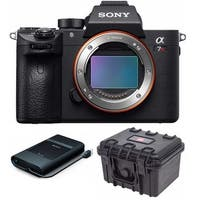 Sony Alpha a7R III Full-Frame Mirrorless Camera (Body Only) with Sony HDD Bundle