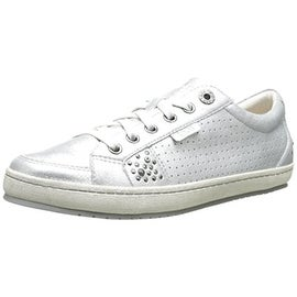 Taos Womens Freedom Leather Embellished Fashion Sneakers - 6 medium (b,m)