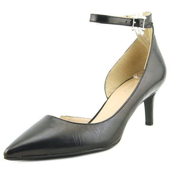 Franco Sarto Dandy Women Pointed Toe Leather Black Heels