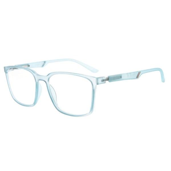 fe787df63b2 Eyekepper Useful Large Plastic Frame Readers Special Spring Hinges Reading  Glasses Men Women (Blue