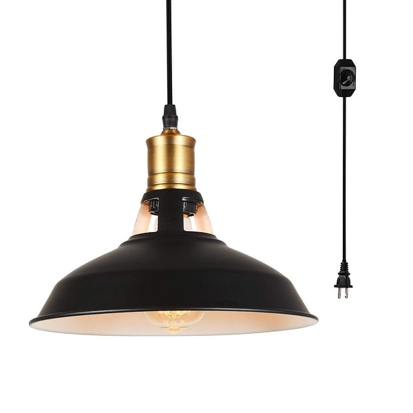 Vintage Industrial Light Switch: Shop Vintage Industrial Dimmer Switch Plug In Edison Black