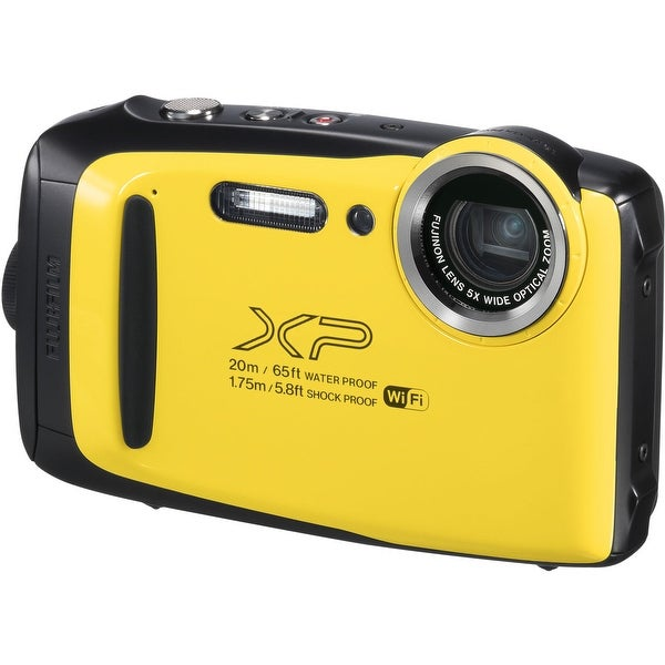 FUJIFILM FinePix XP130 Digital Camera (Yellow). Opens flyout.