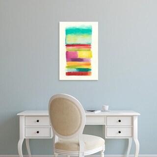 Easy Art Prints June Erica Vess's 'Layer Cake III' Premium Canvas Art