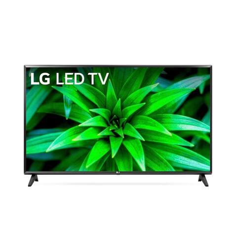 LG 32LM570BPUA 32-inch HDR Smart TV Bundle w/ HDMI Cable - Black