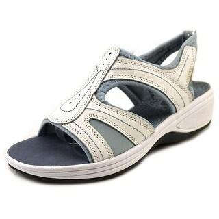 Easy Spirit Shop Around Women Open-Toe Leather Sport Sandal