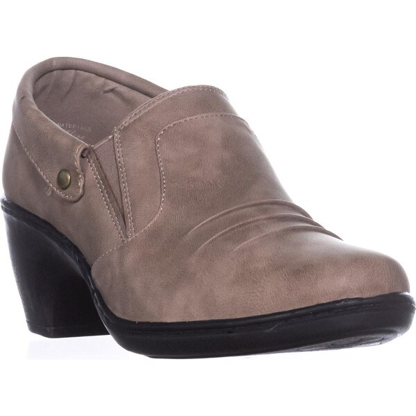 Easy Street Bennett Ankle Booties, Taupe - 8 w us