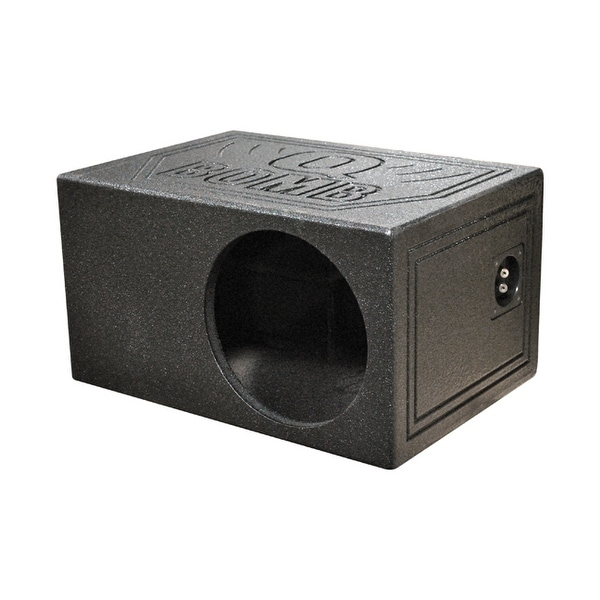 "Qpower Single 10"" QBOMB Woofer box"