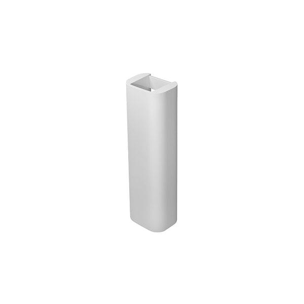 Duravit 858270000 Happy D.2 Ceramic Pedestal Only - White