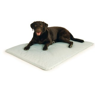"""K&H Pet Products Cool Bed III Thermoregulating Pet Bed Large Gray 32"""" x 44"""" x 0.5"""""""