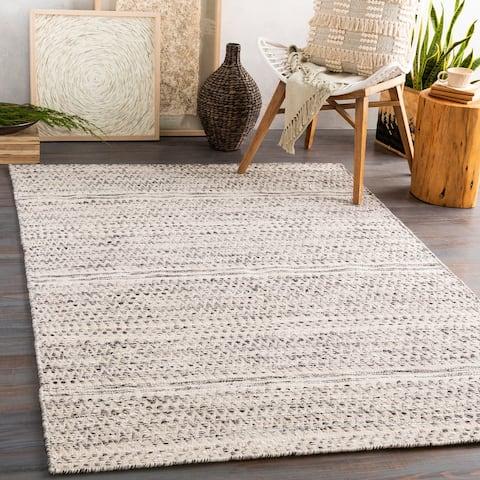 Pietre Handmade Farmhouse Wool Area Rug