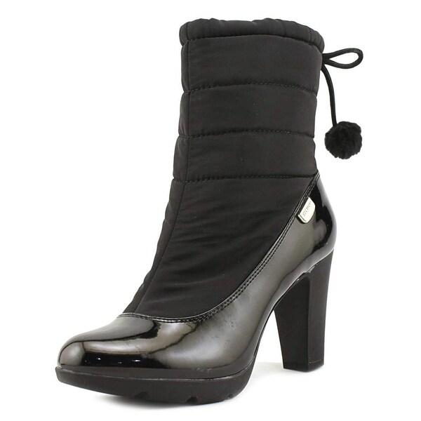 Anne Klein Sport Xhale Women Blk Mul Snow Boots