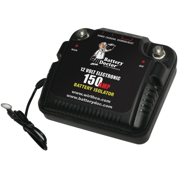 Battery Doctor 20092 12-Volt Battery Isolator (150 Amp Peak)
