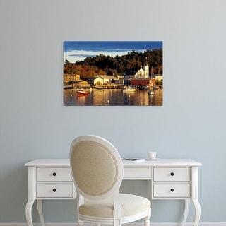 Easy Art Prints Jerry & Marcy Monkman's 'Boothbay Harbor' Premium Canvas Art
