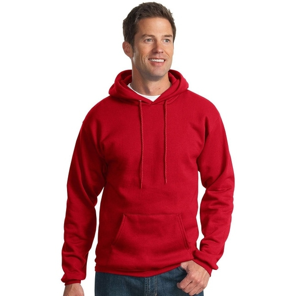 Port & Company Men's Hooded Fleece Sweatshirt. Opens flyout.