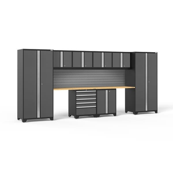Newage Products Pro Series 10 Pc Steel Garage Cabinet Set Overstock 20484358