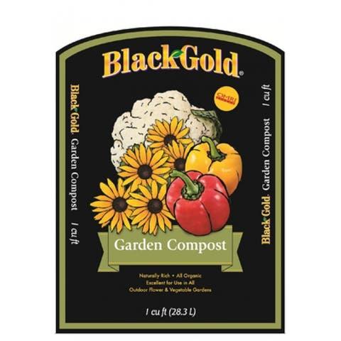 Black Gold 1411602.CFL001P Garden Compost, 1 Cuft