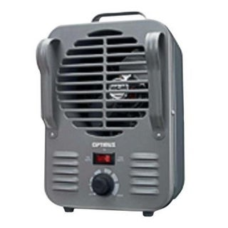 Optimus H3011 Portable Grey Utility Heater with Thermostat