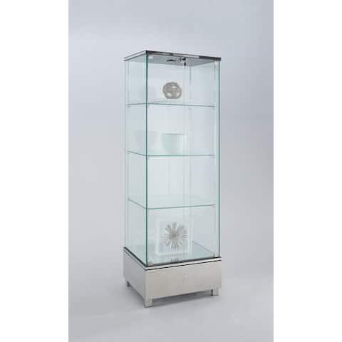 Somette Contemporary Glass Curio
