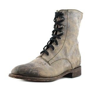 Independent Boot Company surveyor Round Toe Leather Western Boot