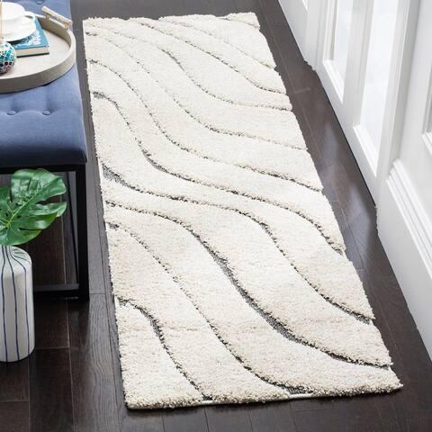 SAFAVIEH Florida Shag Hervor Soft Serene Waves 1.2-inch Thick Rug