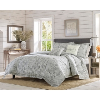 Link to Tommy Bahama Floreanna Cotton Bonus Comforter Set Similar Items in As Is