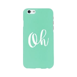 Oh Mint Ultra Slim Cute Design Phone Cases For Apple, Samsung Galaxy, LG, HTC