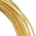 Beadsmith Brass German Bead Wire Craft Wire 26 Gauge/.4mm (20 Meters / 65.6 Feet) - Thumbnail 0